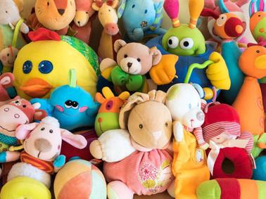 Buntes Spielzeug
