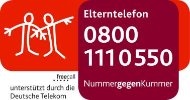 Logo Elterntelefon Nummer gegen Kummer